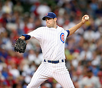August 18, 2007: Chicago Cubs Sean Marshall pitching against the St. Louis Cardinals at Wrigley Field in Chicago, IL.  Photo by:  Chris Proctor/Four Seam Images