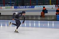 SPEEDSKATING: 23-11-2019 Tomaszów Mazowiecki (POL), ISU World Cup Arena Lodowa, 500m Ladies Division A, Brittany Bowe (USA), ©photo Martin de Jong