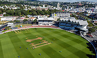 A general view of the Hallyburton Johnstone Shield women's cricket match between Wellington Blaze and Otago Sparks at the Basin Reserve in Wellington, New Zealand on Sunday, 14 March 2021. Photo: Dave Lintott / lintottphoto.co.nz