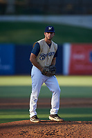 AZL Brewers Gold relief pitcher Josh Shapiro (38) during an Arizona League game against the AZL Brewers Blue on July 13, 2019 at American Family Fields of Phoenix in Phoenix, Arizona. The AZL Brewers Blue defeated the AZL Brewers Gold 6-0. (Zachary Lucy/Four Seam Images)