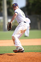 Zach Shannon, #32 of Christian Brothers High School, MS playing for the Midland Redskins Team the WWBA World Championship 2013 at the Roger Dean Complex on October 26, 2013 in Jupiter, Florida. (Stacy Jo Grant/Four Seam Images)