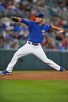 Eric Jokisch #24 of the Iowa Cubs pitches against the New Orleans Zephyrs at Principal Park on July  24, 2014 in Des Moines, Iowa. The Cubs won 11-2.   (Dennis Hubbard/Four Seam Images)