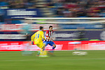 Atletico de Madrid's Koke Resurrecccion, UD Las Palmas Tana Dominguez during the match of Copa del Rey between Atletico de Madrid and Las Palmas, at Vicente Calderon Stadium,  Madrid, Spain. January 10, 2017. (ALTERPHOTOS/Rodrigo Jimenez)