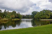 Neumarks Garten und Wörlitzer See, Parkanlage Wörlitzer Garten, Sachsen-Anhalt, Deutschland, Europa, UNESCO-Weltkulturerbe<br /> Neumark's Garden and Wörlitz lake, Wörlitz Gardens, Saxony-Anhalt, Germany, Europe, UNESCO-World Heritage