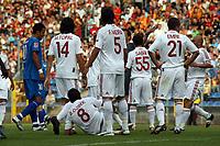 Rudelbildung Galatasaray nach einem Foul<br /> TSG 1899 Hoffenheim vs. Galatasaray Istanbul, Carl-Benz Stadion Mannheim<br /> *** Local Caption *** Foto ist honorarpflichtig! zzgl. gesetzl. MwSt. Auf Anfrage in hoeherer Qualitaet/Aufloesung. Belegexemplar an: Marc Schueler, Am Ziegelfalltor 4, 64625 Bensheim, Tel. +49 (0) 6251 86 96 134, www.gameday-mediaservices.de. Email: marc.schueler@gameday-mediaservices.de, Bankverbindung: Volksbank Bergstrasse, Kto.: 151297, BLZ: 50960101