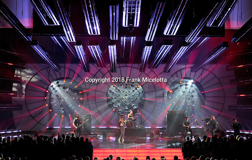 LOS ANGELES - DECEMBER 6: Devil May Cry performs on the 2018 Game Awards at the Microsoft Theater on December 6, 2018 in Los Angeles, California. (Photo by Frank Micelotta/PictureGroup)
