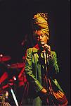 Live photographs of Erykah Badu