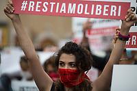 16.07.2020 - Zan Bill Against Homotransphobia and Misogyny - Protest #RestiamoLiberi