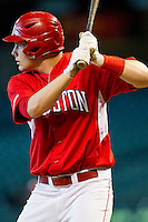 Caleb Ramsey #28 of the Houston Cougars at bat against the Kentucky Wildcats at Minute Maid Park on March 5, 2011 in Houston, Texas.  Photo by Brian Westerholt / Four Seam Images