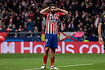 Atletico de Madrid's Diego Costa during UEFA Champions League match, Round of 16, 1st leg between Atletico de Madrid and Juventus at Wanda Metropolitano Stadium in Madrid, Spain. February 20, 2019. (ALTERPHOTOS/A. Perez Meca)
