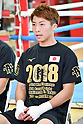 Boxing: Naoya Inoue of Japan during media workout at Ohashi Boxing Gym