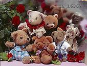 Interlitho, CUTE ANIMALS, teddies, paintings+++++,bears,red roses,KL16367,#ac#