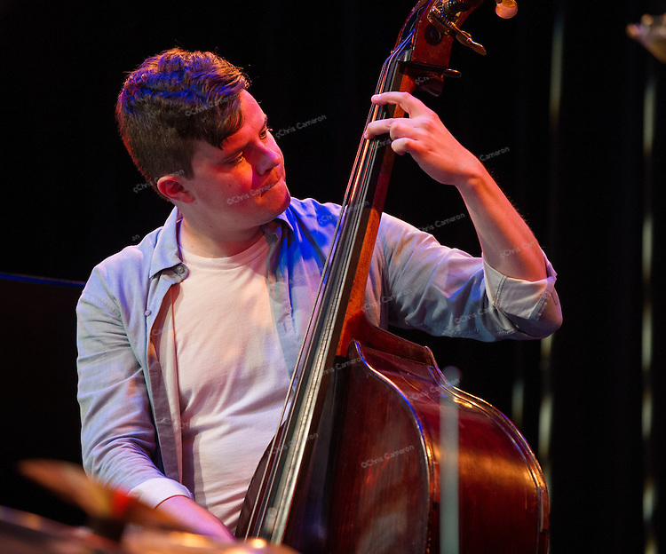 Dan Fortin plays with Myriad3 at Performance Works on June 25, 2014 TD Vancouver International Jazz Festival
