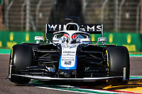 31st October 2020, Imola, Italy; FIA Formula 1 Grand Prix Emilia Romagna, Free Practise sessions;  63 George Russell GBR, Williams Racing