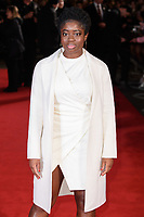 """Clara Amfo<br /> arriving for the """"Maze Runner: The Death Cure"""" Fan Screening at the Vue West End, Leicester Square, London<br /> <br /> <br /> ©Ash Knotek  D3370  22/01/2018"""