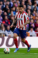 Angel Martin Correa of Atletico de Madrid during La Liga match between Real Madrid and Atletico de Madrid at Santiago Bernabeu Stadium in Madrid, Spain. February 01, 2020. (ALTERPHOTOS/A. Perez Meca)<br /> 01/02/2020 <br /> Liga Spagna 2019/2020 <br /> Real Madrid - Atletico Madrid  <br /> Foto Alterphotos / Insidefoto <br /> ITALY ONLY