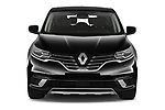 Car photography straight front view of a 2020 Renault Espace Initiale-Paris 5 Door Mini MPV Front View