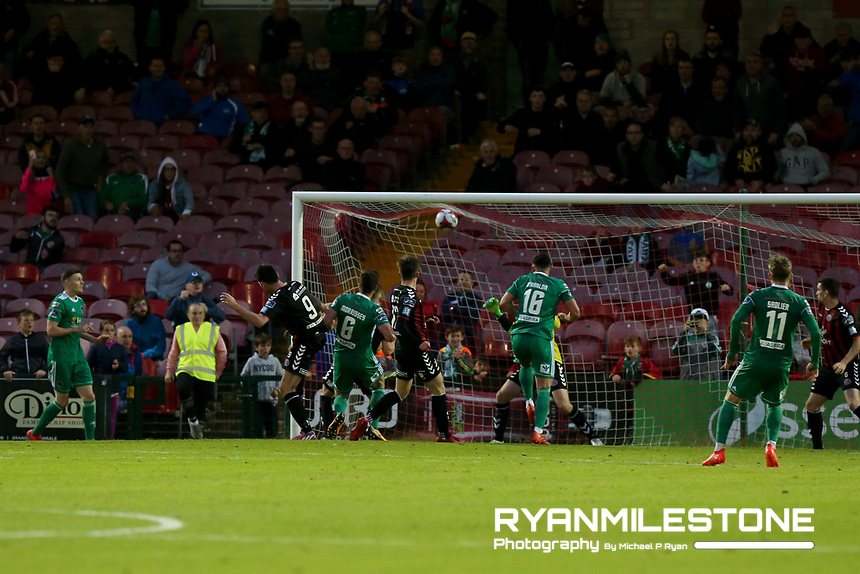 Gearoid Morrissey of Cork scores a late goal for Cork during the SSE Airtricity League Premier Division game between Cork City and Bohemians on Friday 15th June 2018 at Turners Cross, Cork. Photo By Michael P Ryan