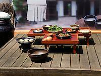 Traditionelle koreanische Speisen, Seoul, Südkorea, Asien<br /> Traditional Korean cuisine, Seoul, South Korea, Asia