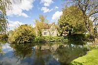 BNPS.co.uk (01202) 558833. <br /> Pic: Cheffins/BNPS<br /> <br /> The perfect home for a recluse?<br /> <br /> A historic moated farmhouse that has not been sold for half a century is up for auction with a guide price of £600,000.<br /> <br /> Grade II listed Parsonage Farm is an English Heritage scheduled monument and is believed to be built on the site of an iron age fort.<br /> <br /> The house dates back to the 15th century and, having been in the same family for the past 50 years, is now in need of modernisation.<br /> <br /> But once renovated it could be worth £1.2m - double its current price tag.