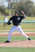 Chicago White Sox pitcher Luis Avilan (70) during Spring Training Camp on February 25, 2018 at Camelback Ranch in Glendale, Arizona. (Zachary Lucy/Four Seam Images)