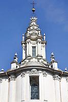 La cupola della chiesa di Sant'Ivo alla Sapienza, a Roma.<br /> The dome of the church of Sant'Ivo alla Sapienza, in Rome.<br /> UPDATE IMAGES PRESS/Riccardo De Luca