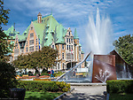 Quebec City, Canada, Levis Chateau Frontenac of Old Quebec,