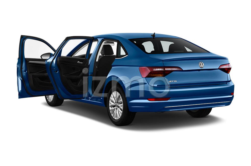 Car images close up view of a 2019 Volkswagen Jetta S 4 Door Sedan doors