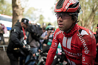 Michael Matthews (AUS/Sunweb) showing some scars after finishing<br /> <br /> 105th Liège-Bastogne-Liège 2019 (1.UWT)<br /> One day race from Liège to Liège (256km)<br /> <br /> ©kramon