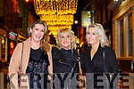 Colette, Theresa and Monica Cregan enjoying New Years Eve in Killarney