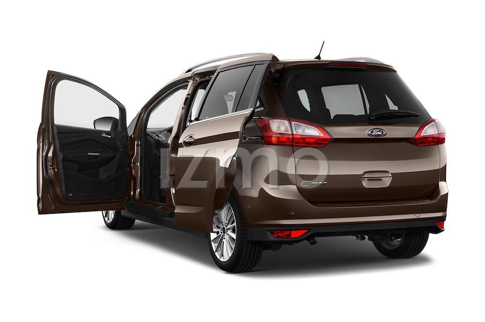 Car images of 2015 Ford Grand C-Max Titanium 5 Door Mini Mpv Doors