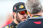 Sprint Cup Series driver Martin Truex Jr. (78) in action before the NASCAR AAA Texas 500 race at Texas Motor Speedway in Fort Worth,Texas.
