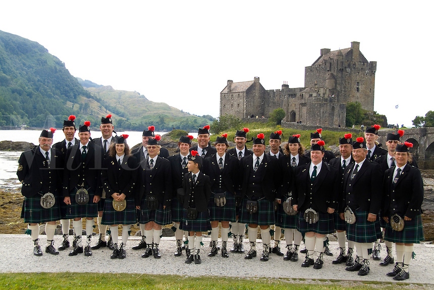 Flemish Caledonian Pipes & Organs from Belgium at the Eileen Donan Castle, Western Dornie, Highlands, Scotland