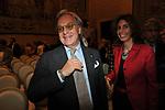 DIEGO DELLA VALLE E MARIA PAOLA MERLONI<br /> PREMIO GUIDO CARLI - TERZA  EDIZIONE<br /> PALAZZO DI MONTECITORIO - SALA DELLA LUPA<br /> CON RICEVIMENTO  HOTEL MAJESTIC   ROMA 2012