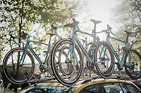 Team LottoNL-Jumbo's Bianchi's ready for Roubaix<br /> <br /> 115th Paris-Roubaix 2017 (1.UWT)<br /> One Day Race: Compiègne › Roubaix (257km)