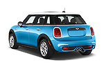 Car pictures of rear three quarter view of2015 MINI Cooper S 4 Door 4 Door Hatchback Angular Rear