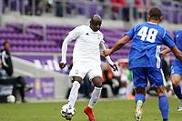 Orlando, Florida - Saturday January 13, 2018: Mamadou Guirassy. Match Day 1 of the 2018 adidas MLS Player Combine was held Orlando City Stadium.