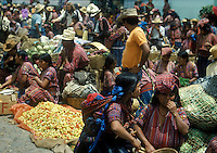 Guatemalan Indian open market