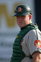 July 11 2009: Matt Watkins of the Boise Hawks before game against the Vancouver Canadians at Nat Bailey Stadium in Vancouver,BC..Photo by Larry Goren/Four Seam Images