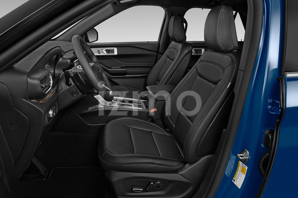 Front seat view of 2020 Ford Explorer Limited 5 Door SUV Front Seat  car photos