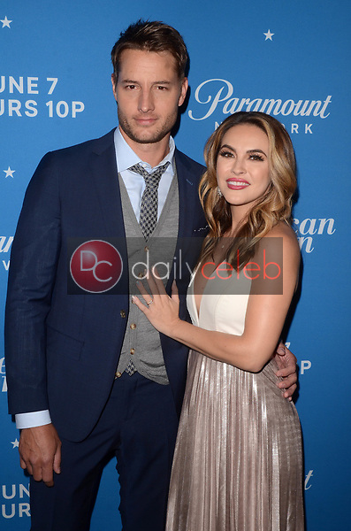 """Justin Hartley, Chrishell Stause<br /> at the """"American Woman"""" Premiere Party, Chateau Marmont, Los Angeles, CA 05-31-18<br /> David Edwards/DailyCeleb.com 818-249-4998"""