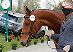 April 21, 2021:62 Quantum Leap and rider Doug Payne from the USA in the first horse veterinary inspection at the Land Rover Three Day Event at the Kentucky Horse Park in Lexington, KY on April 21, 2021.  Candice Chavez/ESW/CSM