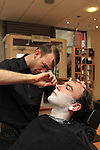 Town centre barbers Hot shave