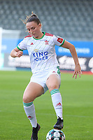 Estee Cattoor (11) of OHL in action during a female soccer game between Oud Heverlee Leuven and Standard Femina de Liege on the third matchday of the 2021 - 2022 season of Belgian Womens Super League , Sunday 5 th of September 2021  in Leuven , Belgium . PHOTO SPORTPIX.BE | SEVIL OKTEM