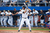Jonathan Pryor (11) of the Wake Forest Demon Deacons at bat against the Florida Gators in Game Two of the Gainesville Super Regional of the 2017 College World Series at Alfred McKethan Stadium at Perry Field on June 11, 2017 in Gainesville, Florida.  (Brian Westerholt/Four Seam Images)