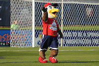 Washington Freedom mascot Glory  Washington Freedom tied Chicago Red Stars  at 1-1 at The Maryland SoccerPlex, Saturday April 11, 2009.