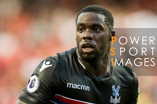 Crystal Palace midfielder Jeffrey Schlupp looks on during the Premier League Asia Trophy match between West Bromwich Albion and Crystal Palace at Hong Kong Stadium on 22 July 2017, in Hong Kong, China. Photo by Weixiang Lim / Power Sport Images