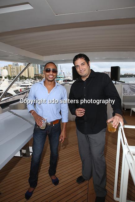 TRUE LOVE  Exhibition and Deysi Calderon Birthday Celebration Held on the Ironman Yacht during Art Basel