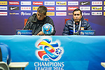 Becamex Binh Duong coach (VIE) gives a press conference after the match Jiangsu Sainty (CHN) vs Becamex Binh Duong (VIE) during their AFC Champions League Group E match on 20 April 2016 at the Olympic Sports Centre in Nanjing, China. Photo by Lucas Schifres / Power Sport Images