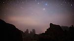 night, Alabama Hills, Sierra Nevada Mountains, California